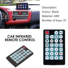 Car MP5 Intelligent 27 Buttons Remote Control Switch Simple Convenient Copy Operation Car Remote Control Car Accessories(China)