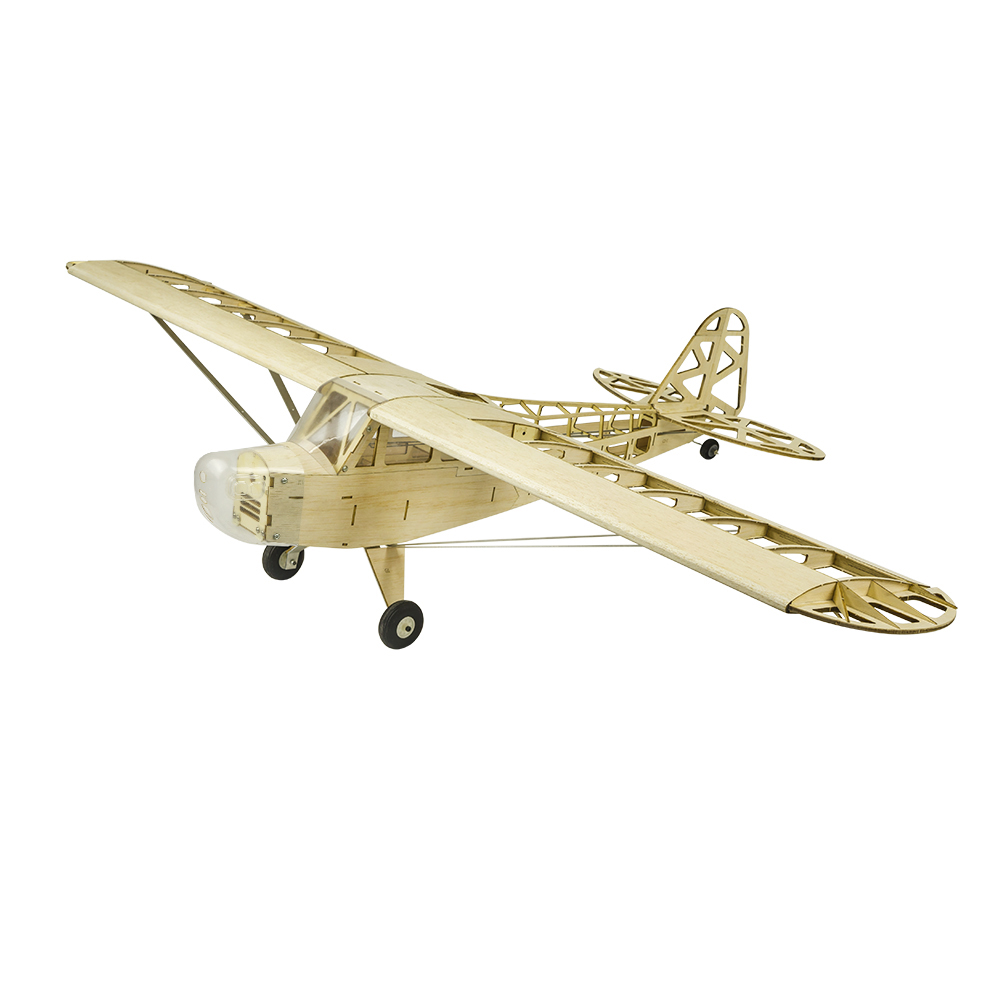 Original Pipe J3 Cub 1.2M 1200mm Wingspan Balsa Wood Laser Cut RC Airplane PNP/KIT DIY Flying Model RC Toys