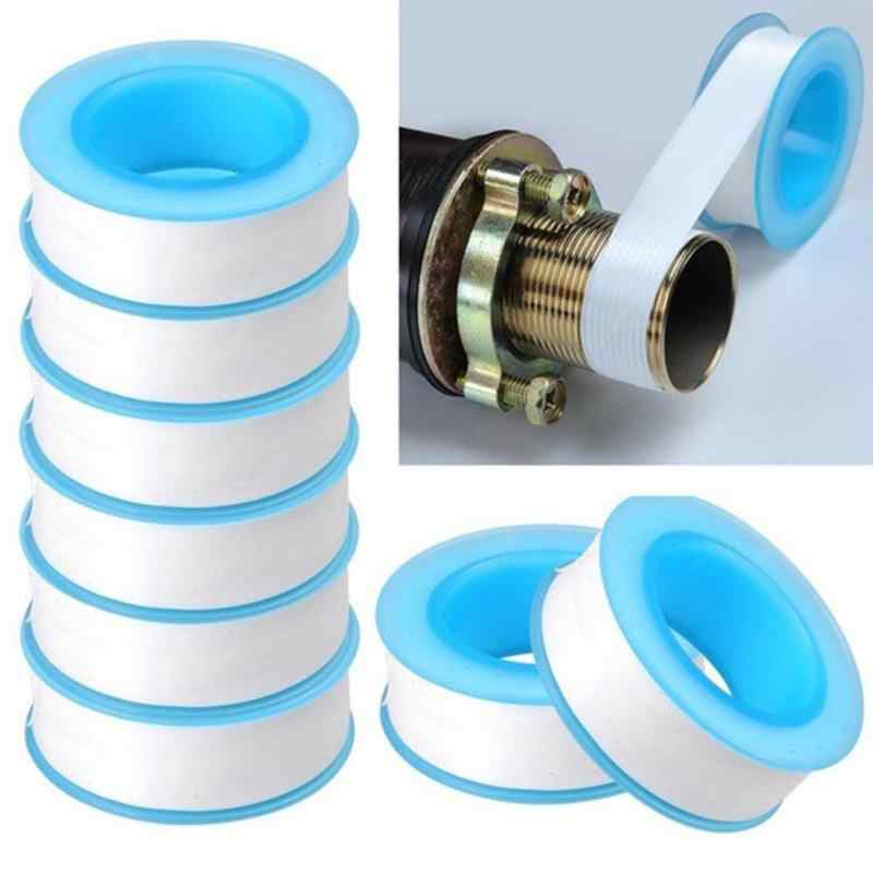 10pcs/lot Roll Teflon Plumbing Joint Plumber Fitting Thread Seal Tape PTFE For Water Pipe Plumbing Sealing Tapes