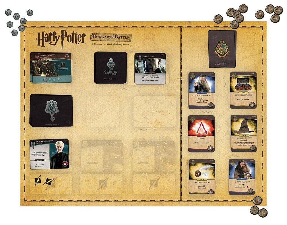 Harry Potter Poudlard Bataille Coopérative De Construction Pont Carte Jeu | Officiel Harry Potter les Marchandises Sous Licence - 6