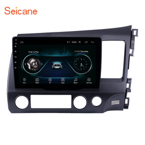 Seicane 10.1 inch Android 9.1 for 2006-2011 HONDA CIVIC right driving HD Touchscreen Radio GPS Navigation system WIFI Bluetooth