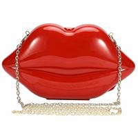 Women's &girls Lips shaped Evening Bags Panic Buying Summer Bag Designer Handbags High Quality Acrylic Box Clutches Drop Ship