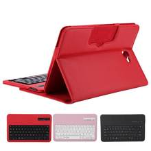 T580 Keyboard Tablet Case Nirkabel Bluetooth Keyboard Protector Cover UNTUK Samsung Tab 10.1 Inch Pemegang Stand Case Tablet(China)