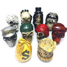auto parts Car modification personality weird  handle manual gear shift head lever skull