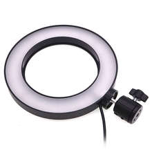 лучшая цена Dimmable Led Studio Camera Ring Light Photo Phone Video Light Annular Lamp Selfie Stick Ring Fill Light For Canon