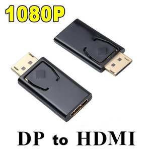 Adapter Audio-Connector Display-Port Macbook Pro Converter Video Female To Hdmi DP 1080P