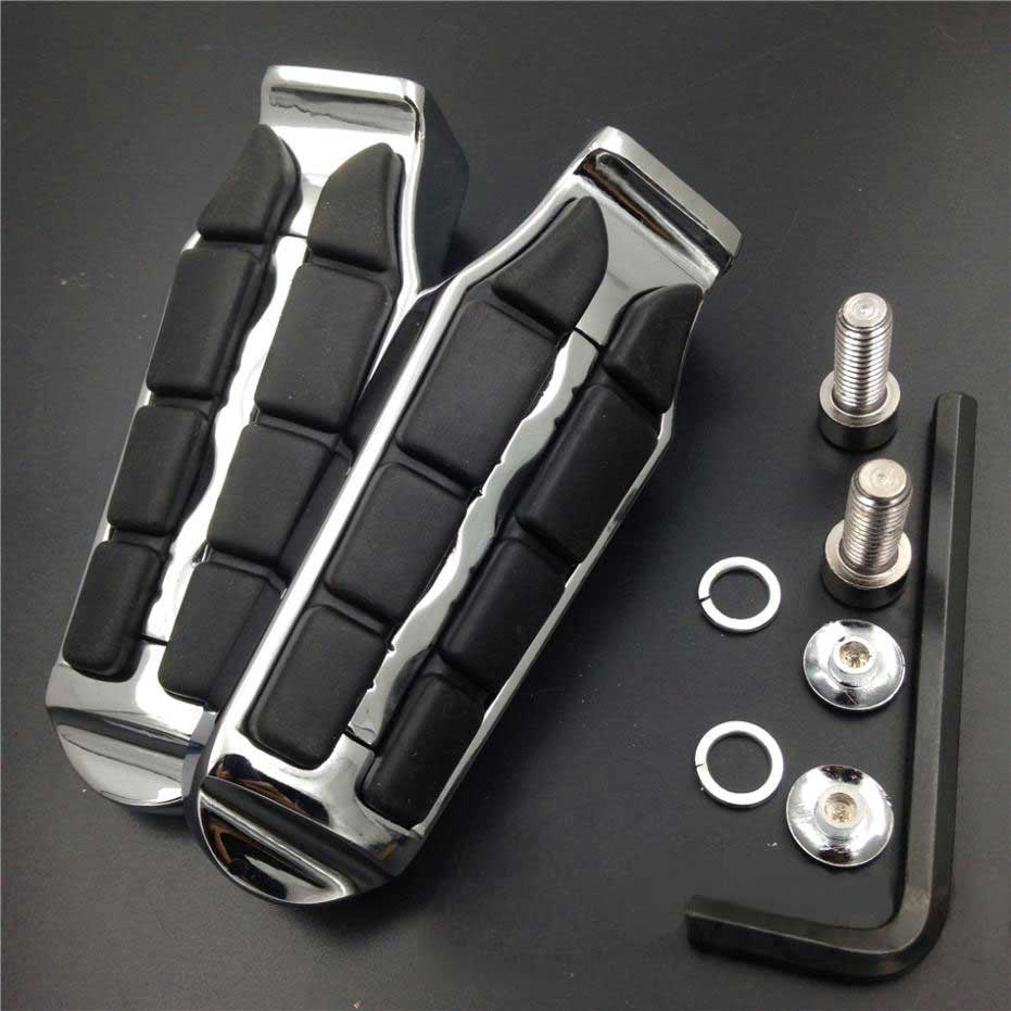 For 2009 2015 Kawasaki Vulcan 1700 Classic LTVaquero voyager Motorcycle Rear Passenger Tombstone Foot Pegs Pedals footpeg Rests in Foot Rests from Automobiles Motorcycles