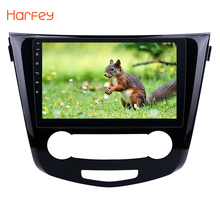 Harfey 2Din 10.1″ Android 6.0/7.1 Car GPS Multimedia Player Car Radio For 2016 Nissan Qashqai Multimedia Player Wifi Head Unit