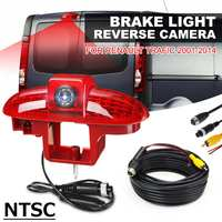 NTSC Car Brake Led Light Lamp Reverse Rear View Backup Parking Night Vision Waterproof Camera For Renault Trafic 2001 2014