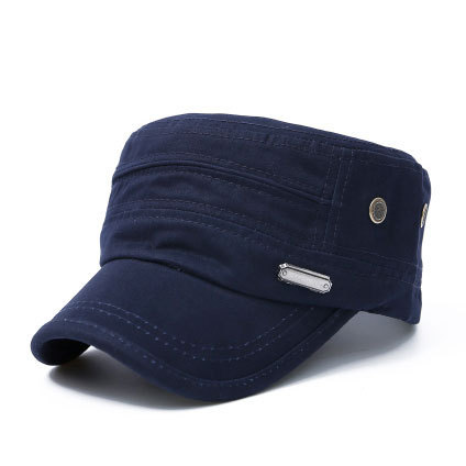 Solid Unisex Hip Hop Cap For Men Women Flat Roof Button Hat Snapback Cap Sport Breathable Baseball Cap