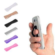 For Apple iPhone Finger Phone Grip Elastic Band Strap Univer
