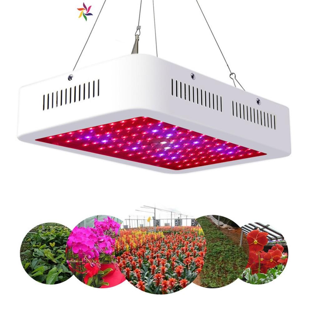 Lampes à croissance rapide LED se développent lumière 1000 W AC85-265V spectre complet éclairage des plantes Fitolampy pour les plantes fleurs culture de semis