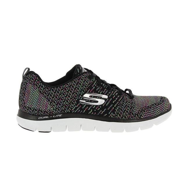 e4f399f8a83 SKECHERS MUJER 12756 BKMT TEXTIL ZAPATOS-in Women s Vulcanize Shoes ...
