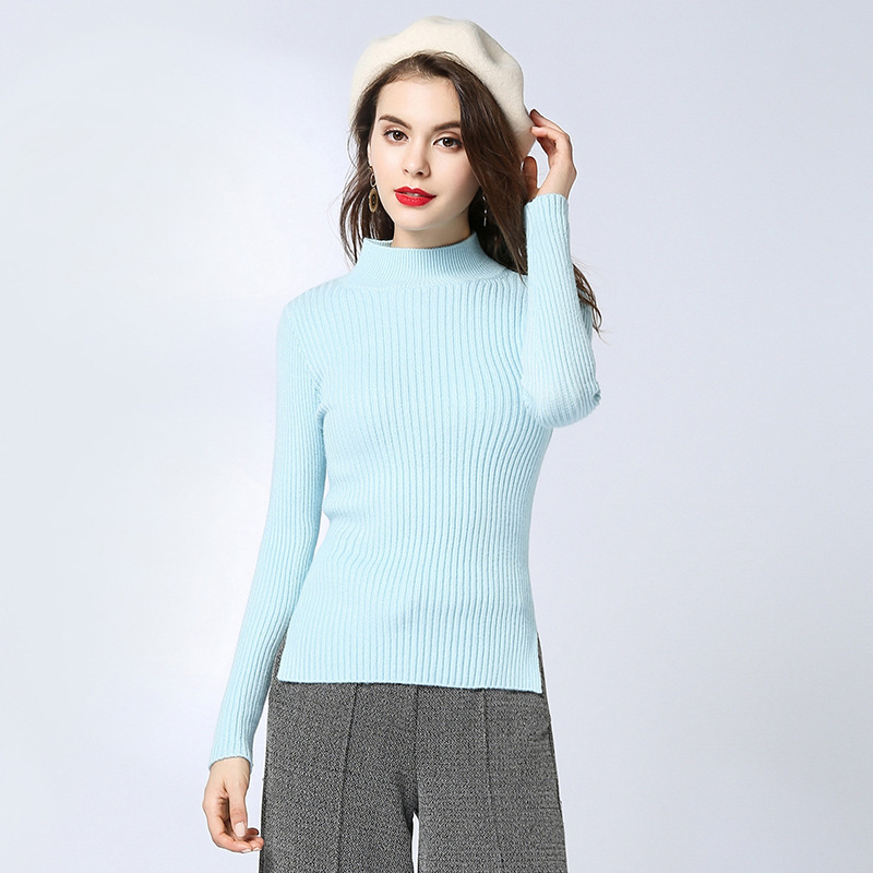 Woman Long Sleeve Autumn And Spring thickness Pullover slimming Rendering Sweater feminino 1808 Price $20.00