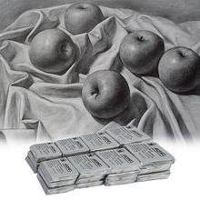Kneaded Erasers 24-Pack For Charcoal Drawing Drawing Erasers No Smudge Rubber Erasers Art Sketch Supplies