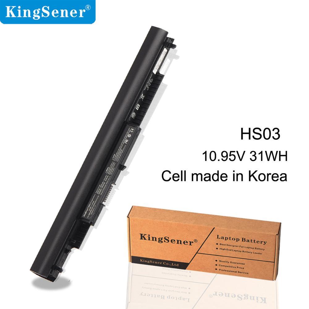 KingSener 31WH HS03 HS04 batterie D'ordinateur Portable Pour HP Pavilion 14-ac0XX 15-ac0XX 255 245 250 G4 240 HSTNN-LB6V HSTNN-PB6S 807611- 831