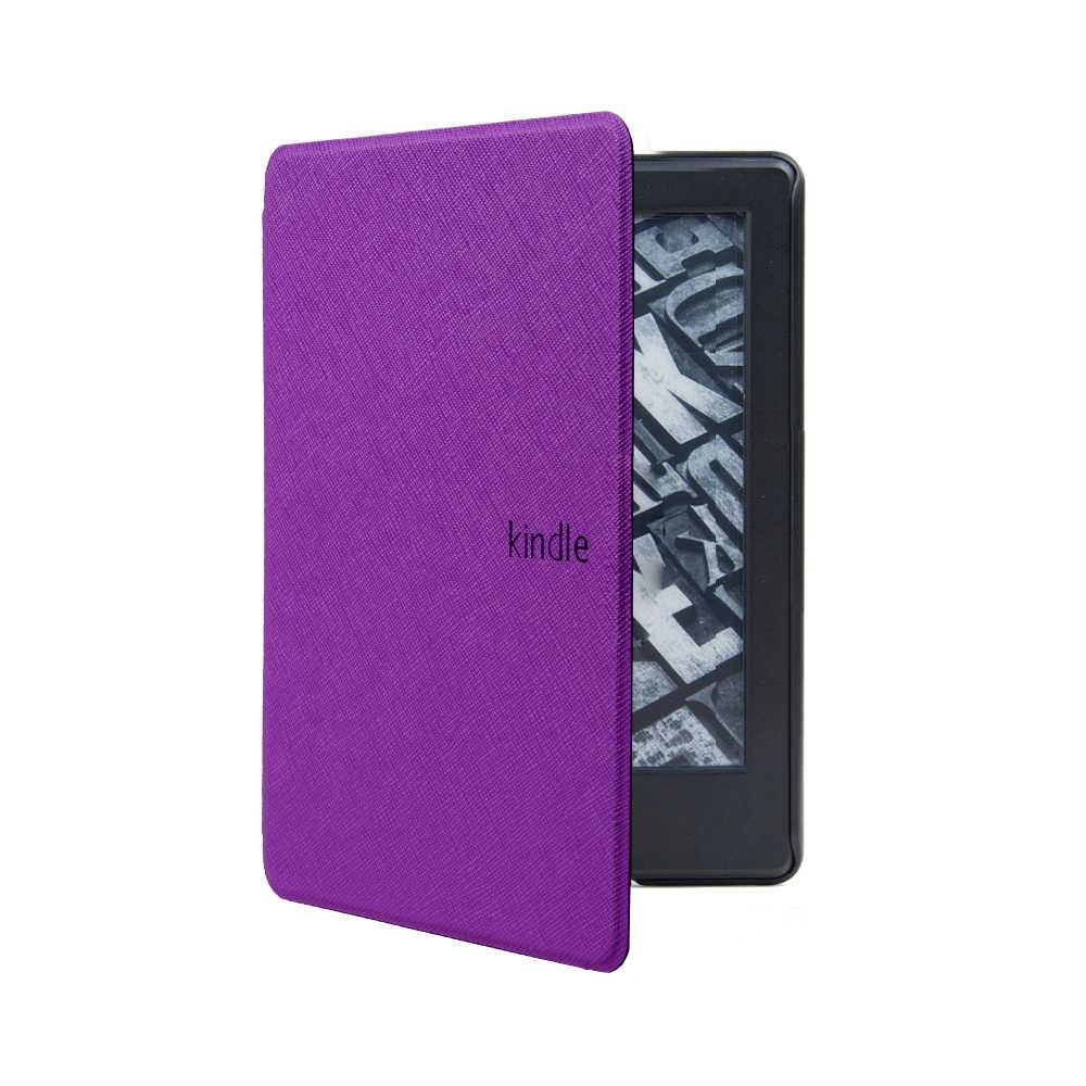 Gligle Cross Patern PU кожаный чехол для Kindle Paperwhite 2018 устройство для чтения электронных книг, защитный корпус 50 шт./партия бесплатная доставка