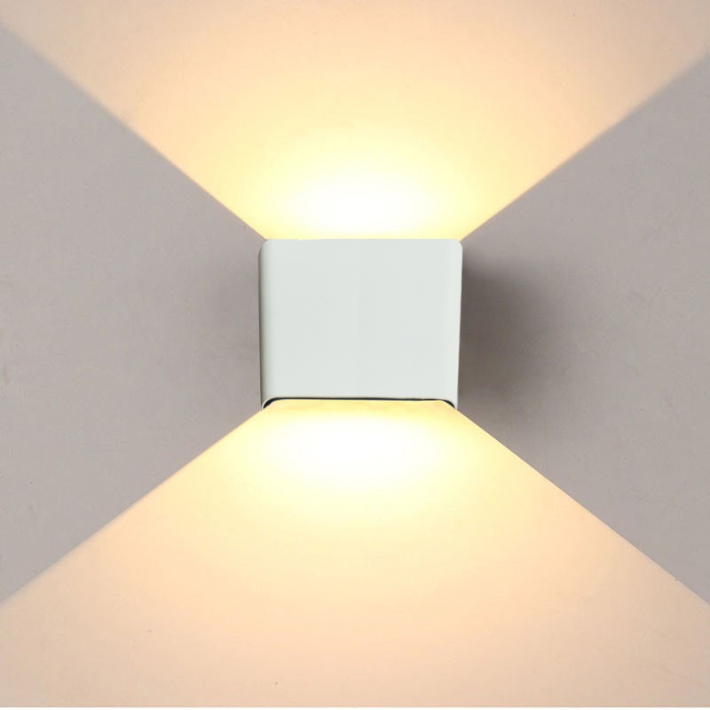 Lighting Basement Washroom Stairs: 6W Led Wall Light Up Down Led Stair Bedside Lamp Bedroom