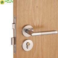 Stainless steel indoor Solid wood door Bedroom House door lock Mechanics TOILET Split lock Handle lock Handle