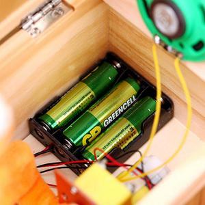Image 5 - Scatola di legno elettronica indispensabile tigre carina giocattolo divertente regalo per ragazzo e bambino giocattoli interattivi decorazione da scrivania con riduzione dello Stress