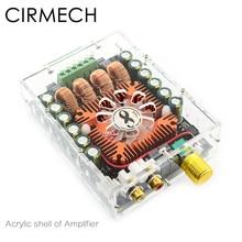 CIRMECH couvercle damplificateur acrylique uniquement pour notre magasin Tda7498E amplificateur utilisé coque acrylique