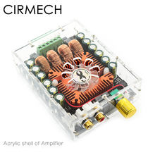Cirmech 아크릴 앰프 커버 우리의 상점 전용 tda7498e 앰프 아크릴 쉘 사용