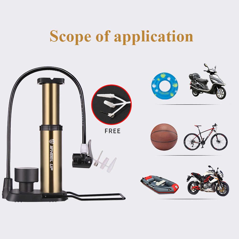 160 высокое давление PSI Велосипедные насосы MTB велосипед Надувное Портативный насос с Давление датчик ультра-легкий велосипед насос Bicicleta
