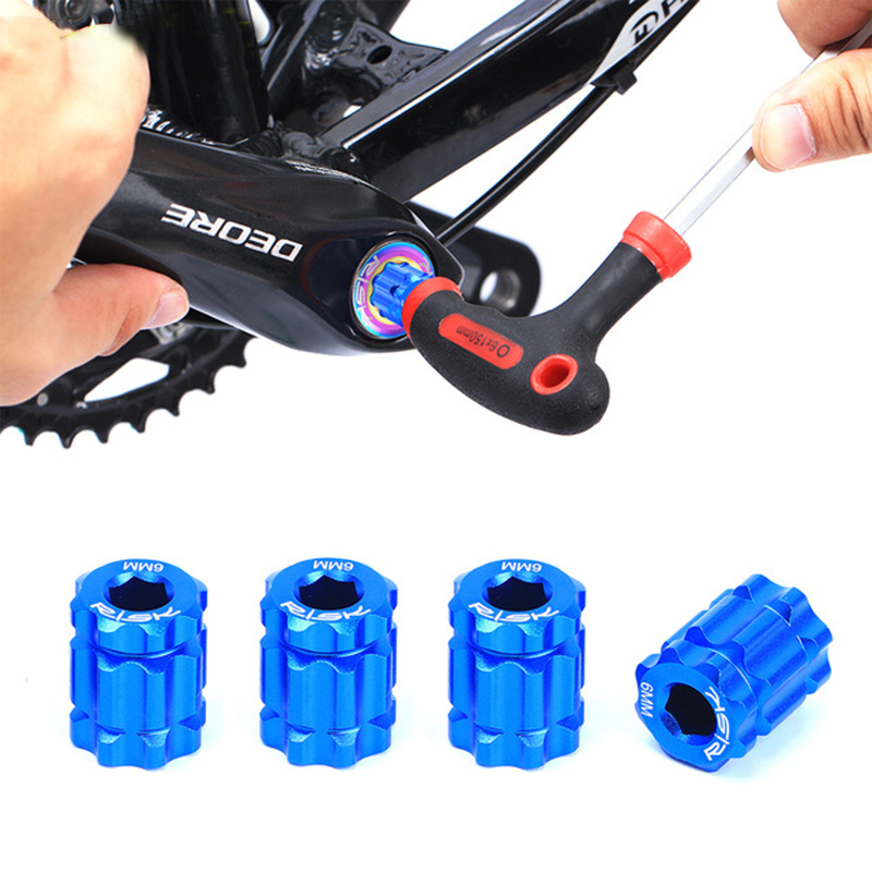 Bicycle Crank Remove & Install Tool For MTB Road Bike Crank Arm Aluminum Bicycle Tool For Shimano Series