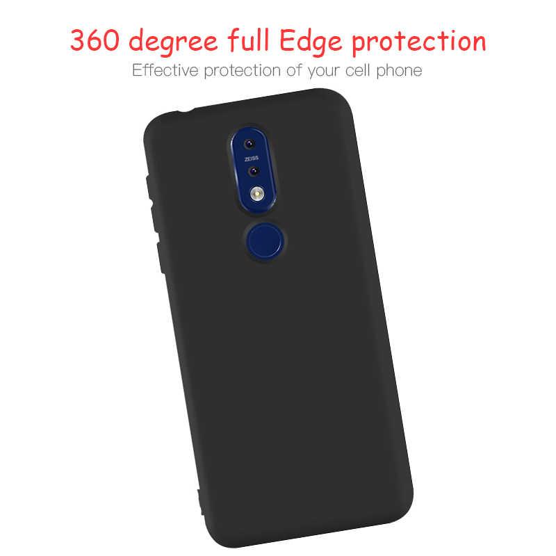 מקרה טלפון עבור Nokia 6.1 3.1 7.1 9.1 בתוספת אולטרה דק מט רך סיליקון TPU מקרה עבור Nokia X6 X5 x7 5 6 7 8 9 חזרה כיסוי Coque