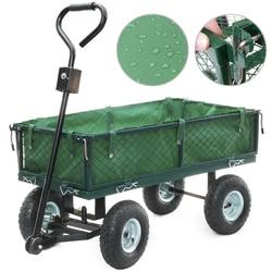 Panana тяжелый большой сад тележка грузовик 4 колеса транспорта металлическая сталь сетка Тачка Емкость 300 кг подарок детям