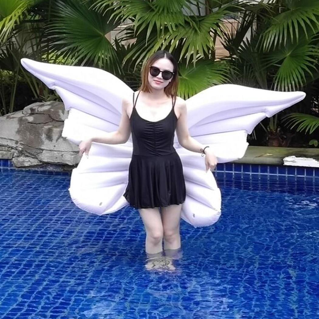 Ailes de papillon gonflables lit flottant anneau de natation flotteur de piscine gonflable pour enfant et adulte jouets d'eau lit d'eau flottant