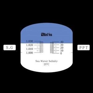 Image 2 - Рефрактометр для соленой воды в аквариуме, красный рефрактометр для морской воды