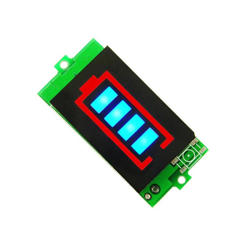 1S 3S Battery Tester BMS PCB Protection Board Lithium Battery Capacity Indicator 4 2V 12 6V Power Level in Voltage Meters from Tools