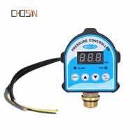 "Russische Druck Control Switch Digital Led-anzeige Wasserpumpe G1/4 ""G3/8"" G1/2 ""WPC-10, eletronic Controller Sensor Mit Adapter"