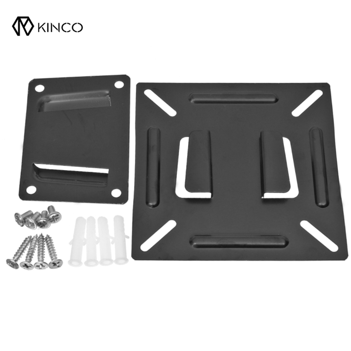 KINCO 12-24 Inch Screen Wall Mount Bracket LCD LED Plasma Monitor TV