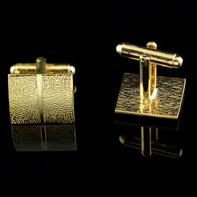 Gold Plating Tie Clip and Cufflink  3