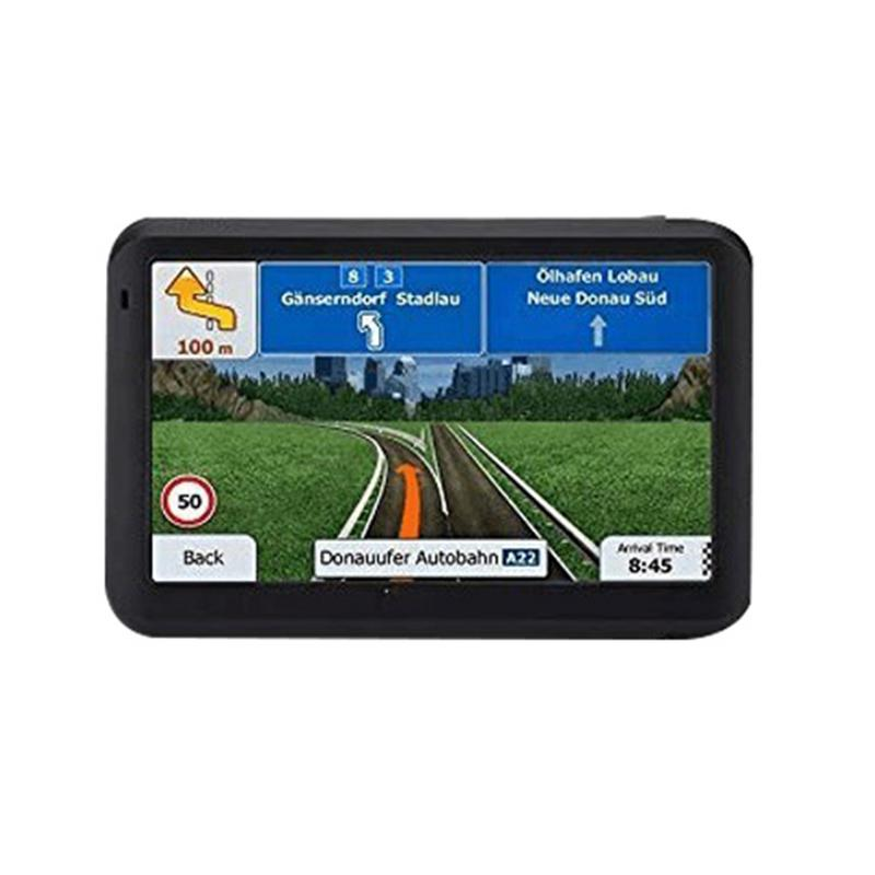 Touch-Screen Car-Gps-System AV-IN Sat Nav RAM256M 5-Inch FM with Free-Map Travel ROM8GB