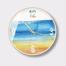 New 3D Wall Clock 12Inch Nordic Home Mute Large Size Simple Modern Decorative Big Design For