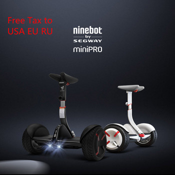Ninebot-patinete eléctrico Mini Pro N3M320, patín inteligente con autobalance, dos ruedas, 800w y 30 km, Original