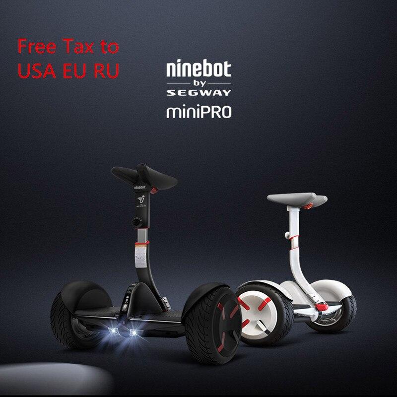 Original Ninebot Mini Pro N3M320 auto équilibrage Scooter électrique deux roues 800 w 30 km kilométrage Smart Hoverboard planche à roulettes