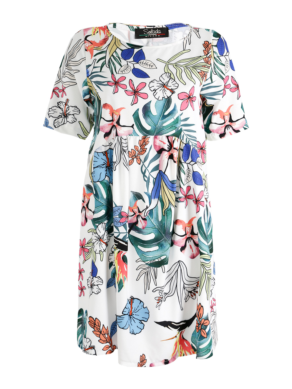 Fleurs Robe Des Flare Robe Flare Avec 87nqpTTOx