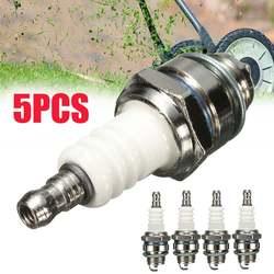1/5PC 55x22mm kosiarka do trawy świeca zapłonowa Rep RJ19LM BR2LM do silników Briggs & Stratton