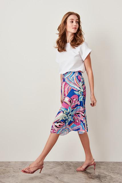 Trendy Pliseli Skirt
