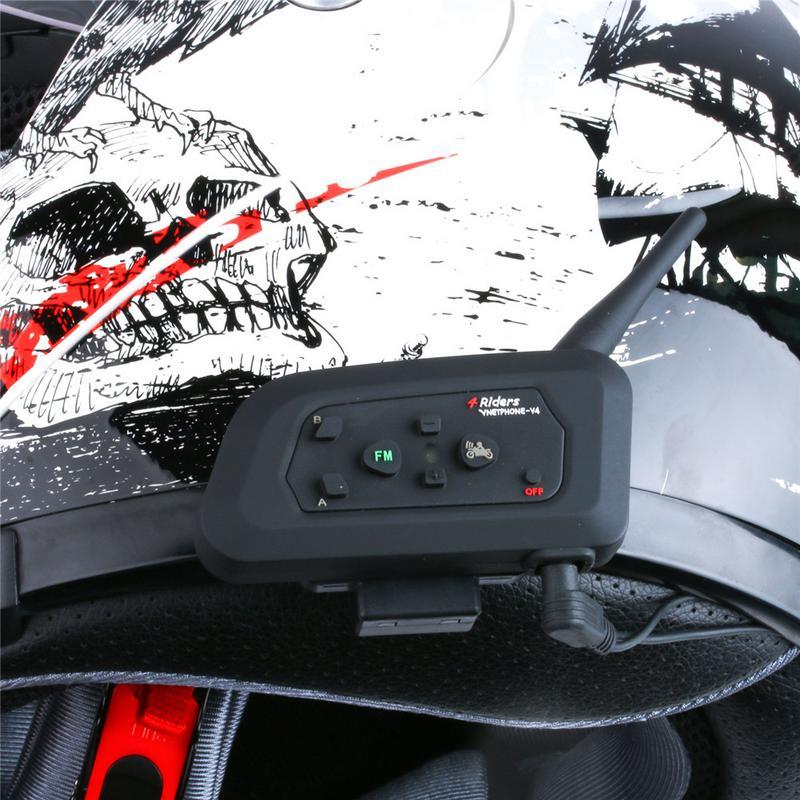 Emergency 2PCS/Pack V6 Clip Metal Bracket Suitable For V6 V4 Motorcycle BT Bluetooth Interphone Headphone Helmet Walkie Talkie