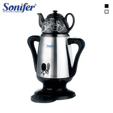 4L Stainless Steel Electric Ceramic Kettle 1800W Large Size Capacity Household Samovar Adjustable Temperature Tea Pot Sonifer(China)