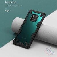 Чехол Ringke Fusion X для Huawei Mate 20 Pro, двухслойная сверхпрочная защита от падения, прозрачная задняя крышка из ПК и мягкая гибридная рамка из ТПУ