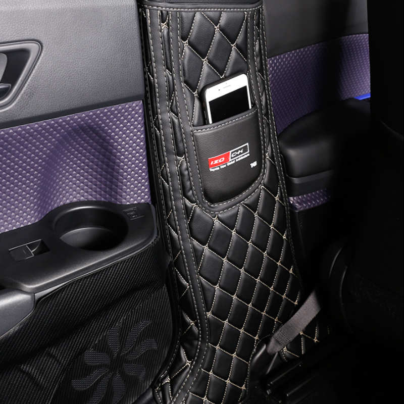 My Good Car Interior Protector Side Edge Protection Pad Door B Pillar Anti-kick Mats For Toyota C-HR 2017 2018 Car Accessories
