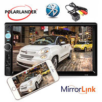 Radio cassette player LCD Touch Screen Mirror Link for Android rearview camera 7'' 2 DIN Bluetooth Auto car Radio General Models