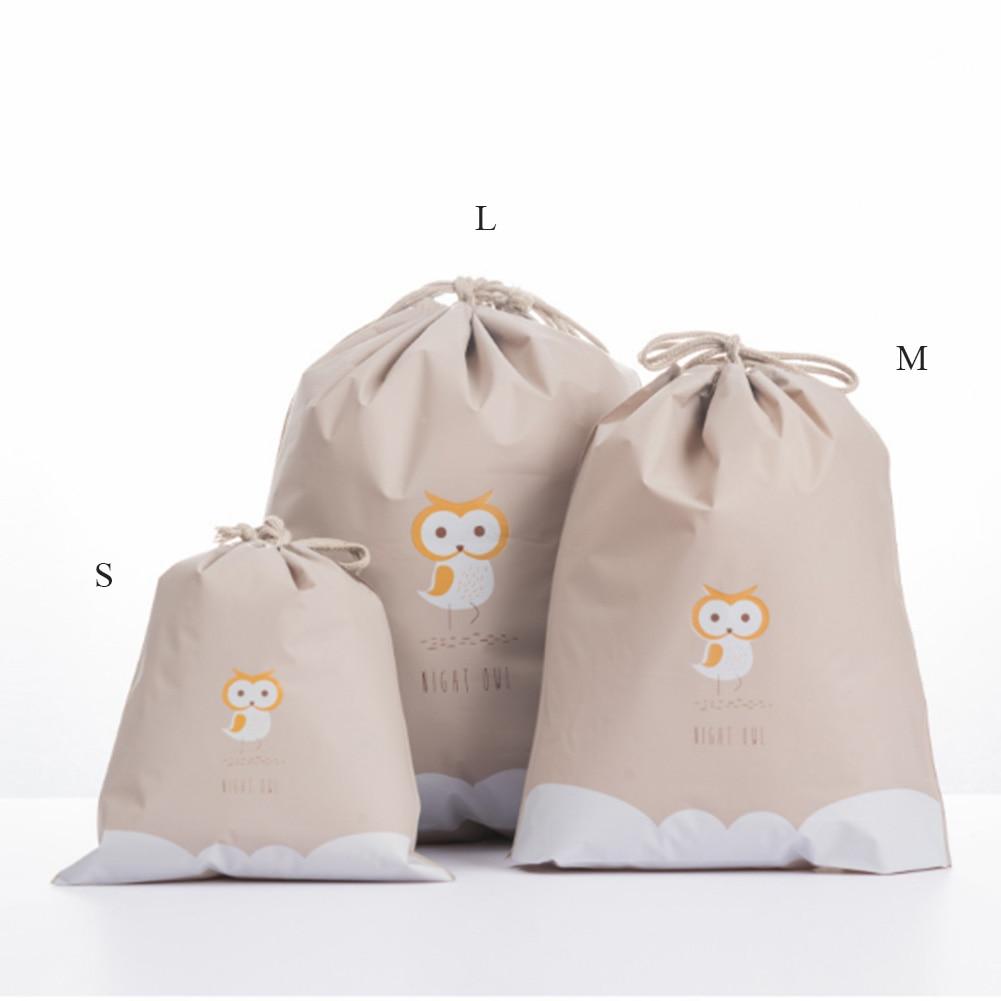Women Cute Beauty Waterproof Drawstring Makeup Cosmetic Travel Toiletry Bag Packing Organizers Bags Cute Animals Drawstring Bags