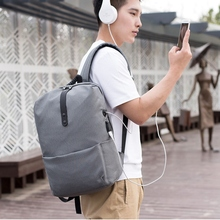 Men Backpack Anti-Theft Multifunctional Casual Laptop Usb Charging Travel School Bags Rucksack